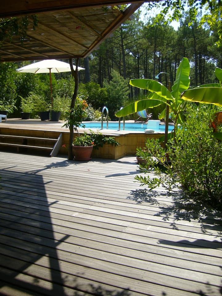 « La Villa Asia »   Montalivet, près de la plage!