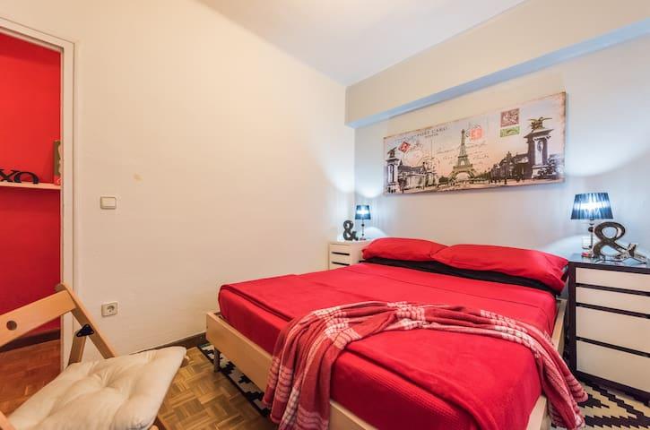Habitación 2 personas, Cama Doble - Madrid - Apartamento