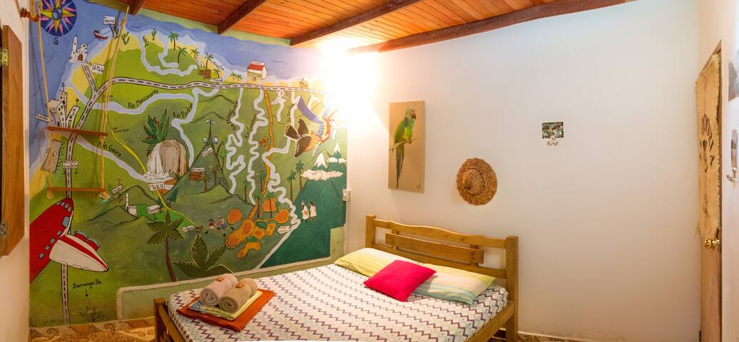 Doble Economic Private Room Hostal Colibri