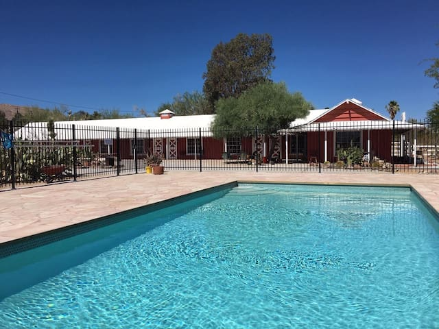 Joshua Tree Ranch House room # 5 - Motel in town!!