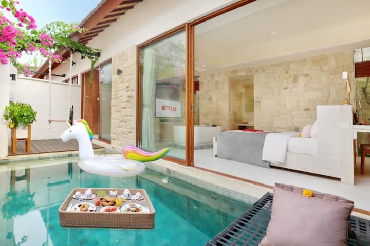 Chic & Stylist One Bedroom Private Pool Villa