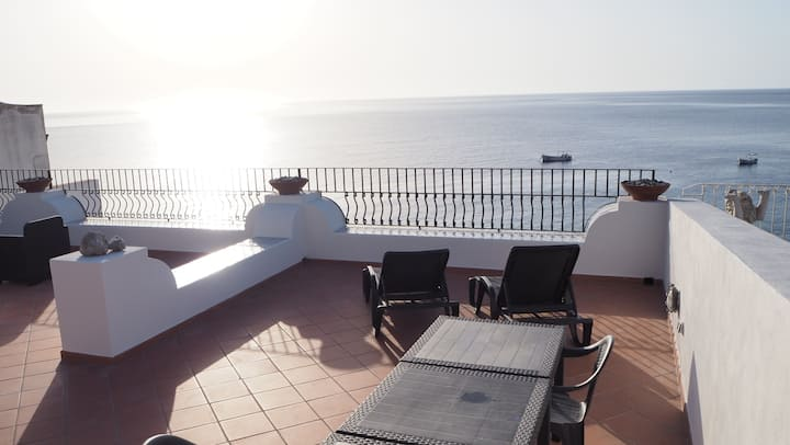 CasaCalandra 2+2 Best view - Canneto Lipari Eolie