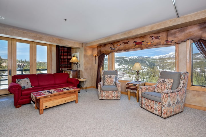 Gorgeous view-Shoshone Corner Unit, Ski-In/Ski-Out