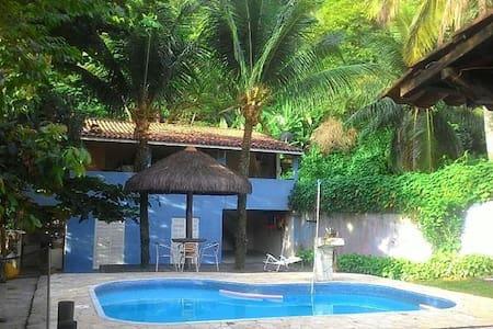Casa para Hospedes -  Praia de Barequeçaba - San Sebastian - Rumah