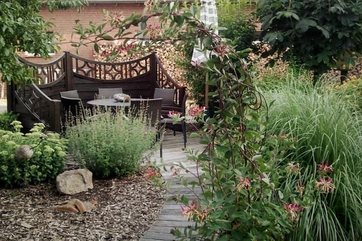Schönes Apartment mit Gartenmitbenutzung