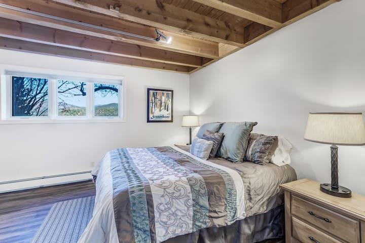 Large lower level bedroom - king bed