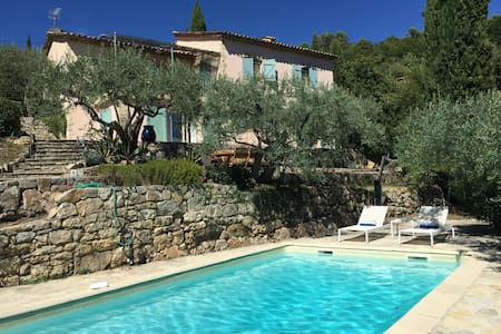 Luxurious Villa With Private Pool - Seillans