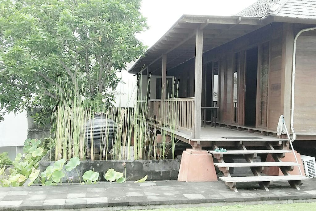 my wooden house