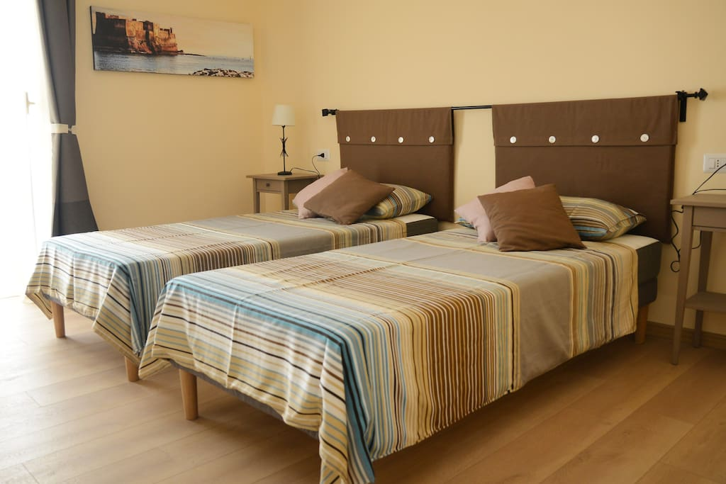Room 2,  two single beds