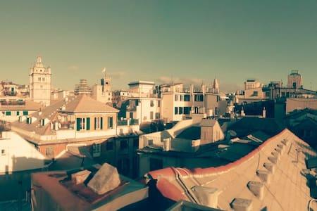 Il tetto tra le torri - Genua