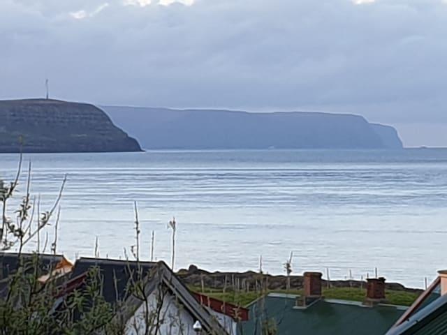 Seaside apartment in Tórshavn - 5 min. from center