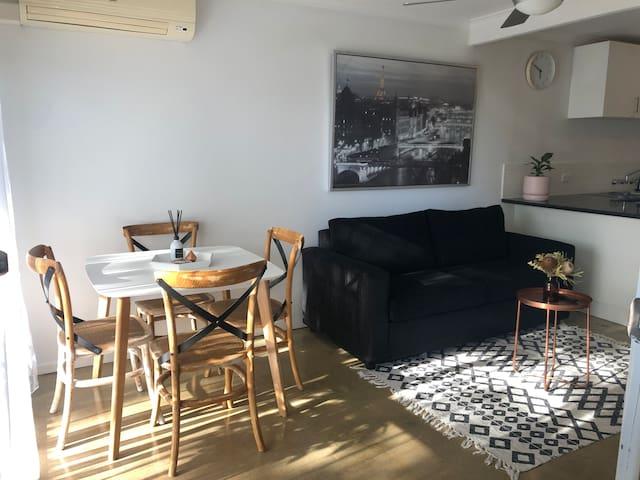 Cozy modern unit