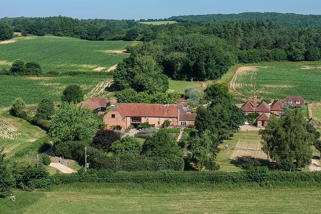 Properly in the heart of the countryside...