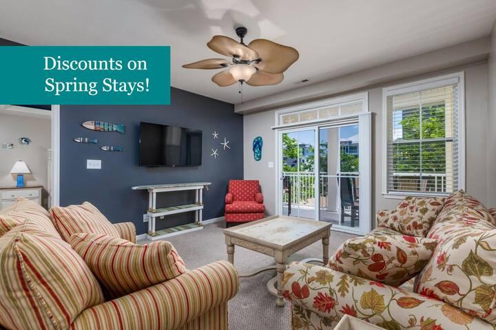 Sunset Island 35 FDW 2C - Beautifully-Updated in Gated Resort, Fun Amenities!