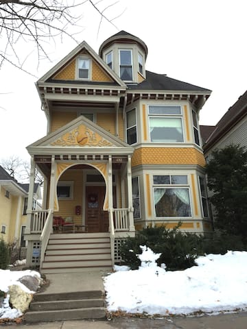Historic Queen Anne Victorian in Crocus Hill - Saint Paul - Appartement