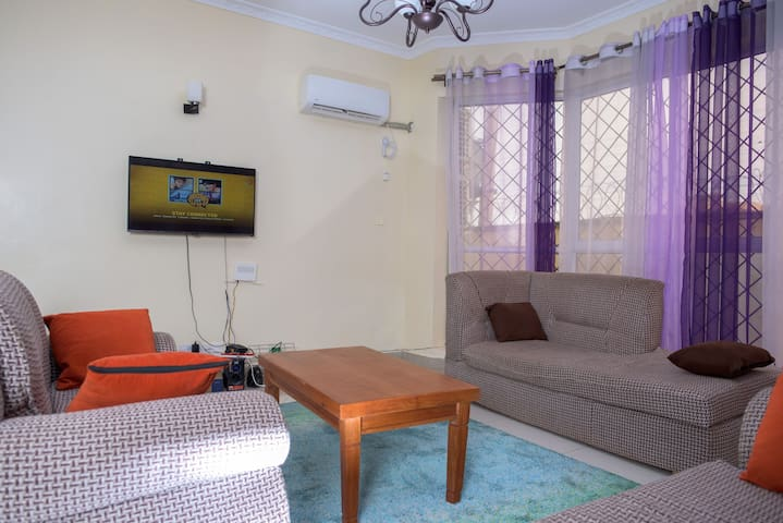 Colourful,charming with a WiFi and AC next to mall