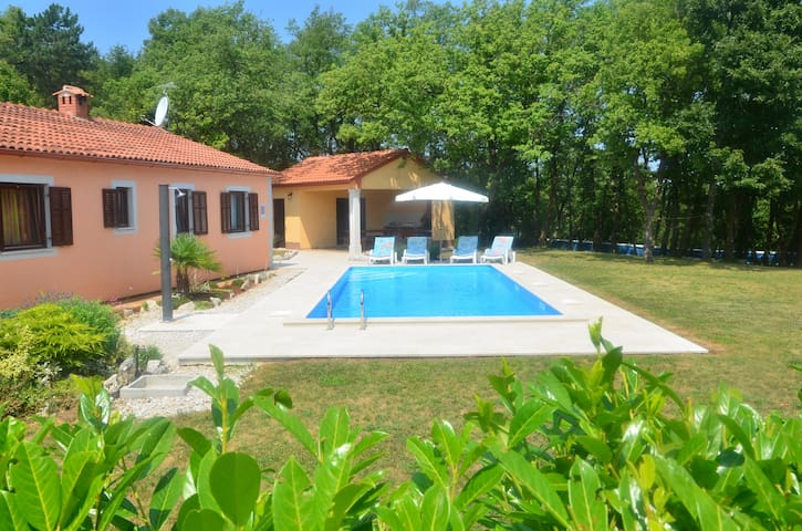 Villa Fragola - Holiday house  with large garden - Tinjan
