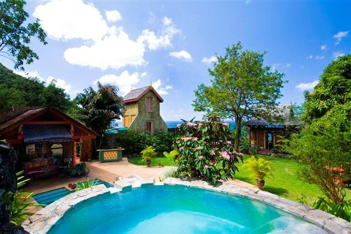 Beausejour Villa - Soufreire - Huis