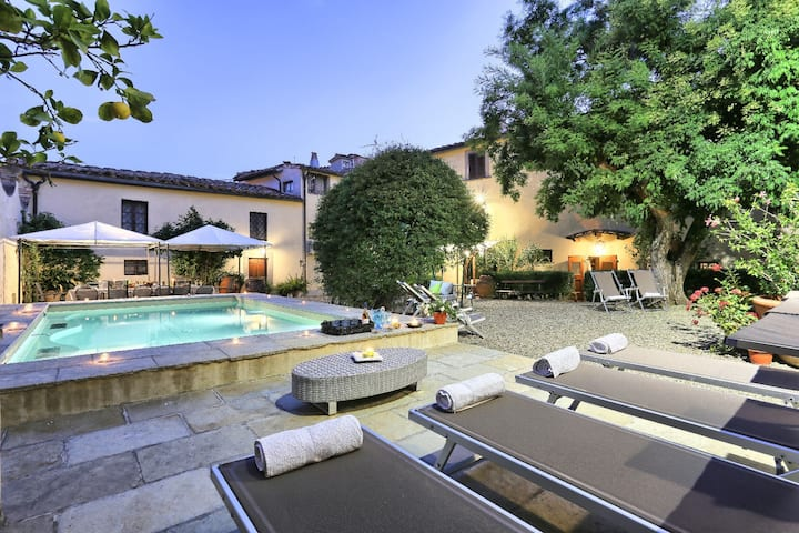 Private Villa in Chianti between Florence/Siena