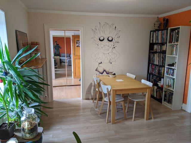 Appartement original et confortable