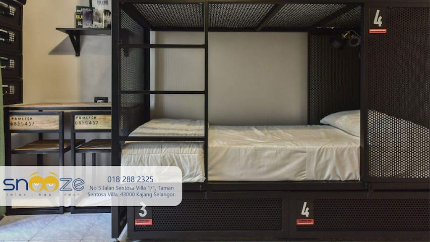 BED5 Share Room | Get Sleep Stay & rest in Kajang