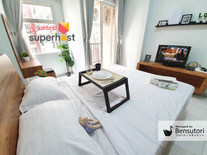 Homey Apartment Tangerang City Center by Bensutori