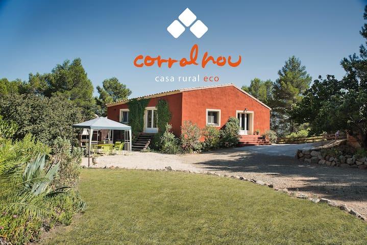 Casa rural ecològica - Pradell de la Teixeta - บ้าน