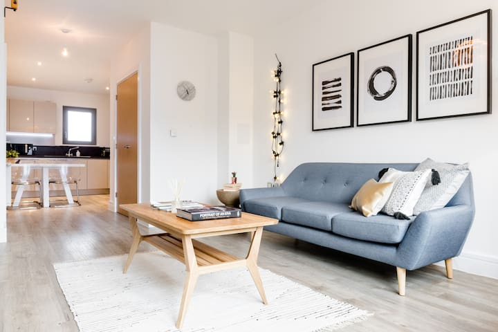 Uber Cool 2 Bed 2 Bath in East London