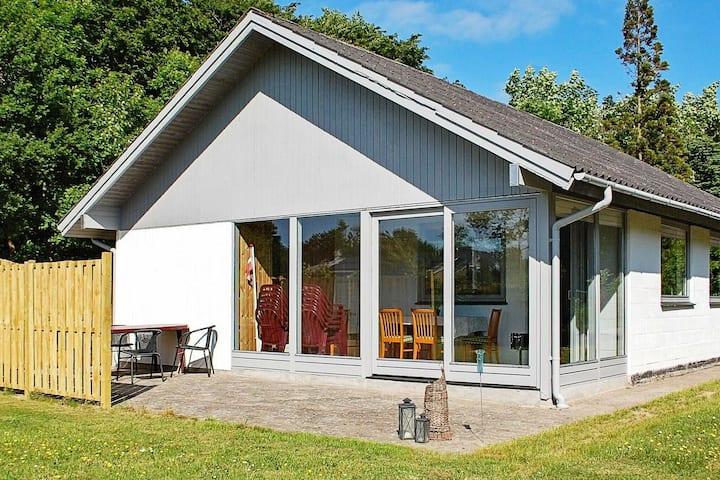 Maison de vacances paisible à dans le Jutland avec terrasse