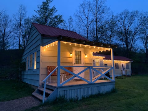 The Green Cottage, 30-acre oasis in the Catskills