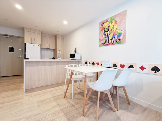 Auckland central 2 bedroom comfort new apartment