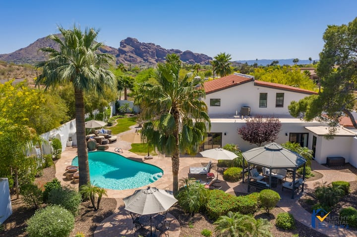 PARADISE VALLEY TRANQUILITY ESTATE+SPORTCOURT+POOL
