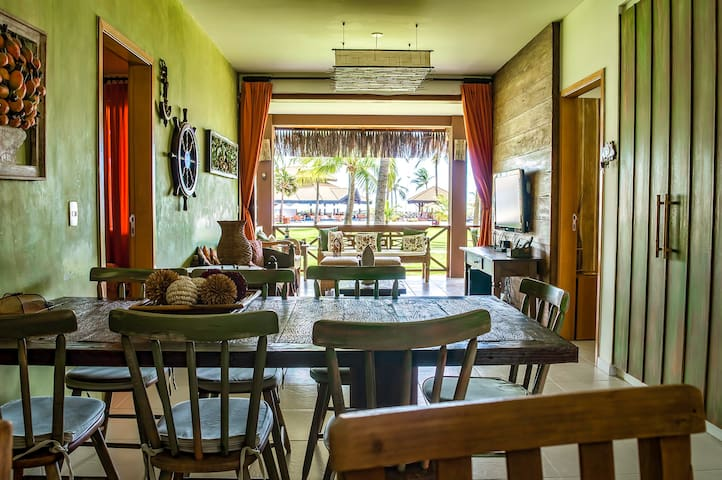 Casa em Bangalô 1º Fileira-Flexeiras Eco Residence