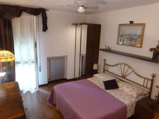 Romantic Amethyst room in B&B WINDROSE near Padova - Limena