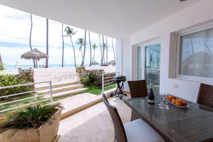 Sea View Delux Beach front 8 guests WiFi - Punta Cana - Condominium