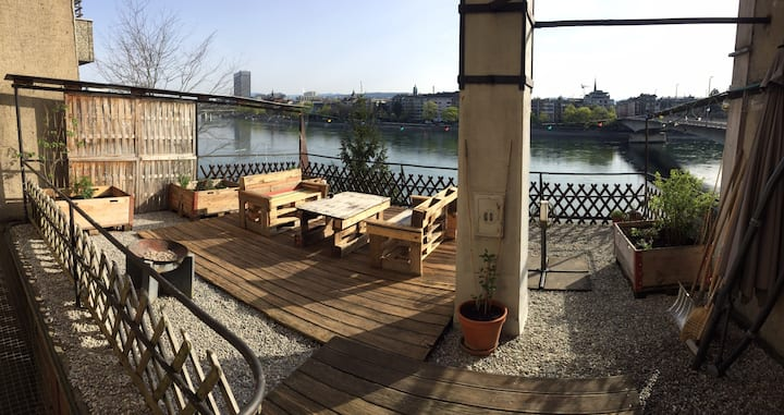 Apartment with a view in the heart of Basel