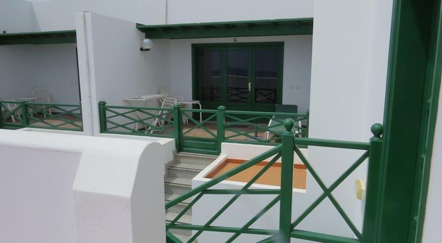 La terraza del apartamento