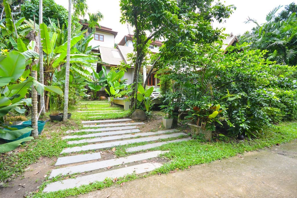 Natural living in the style house in the middle of Phuket