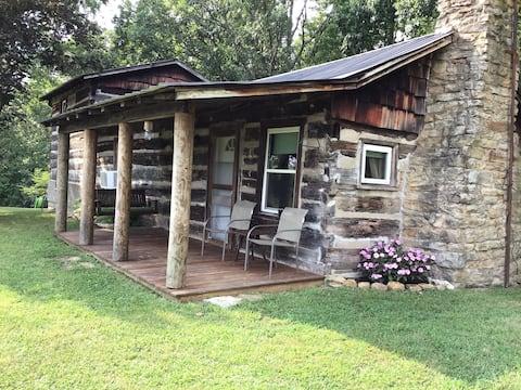 Red Bird Log Cabin