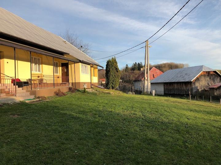 Mlynárovce Home by a meadow