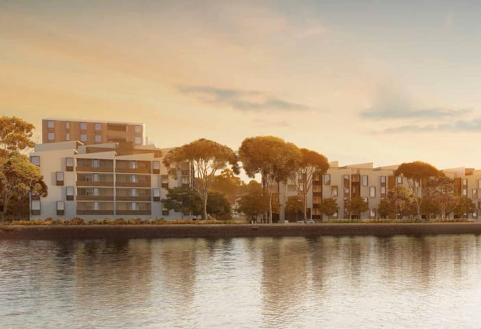 Water Front Apartment at Royal Shores - Ermington - Lejlighed