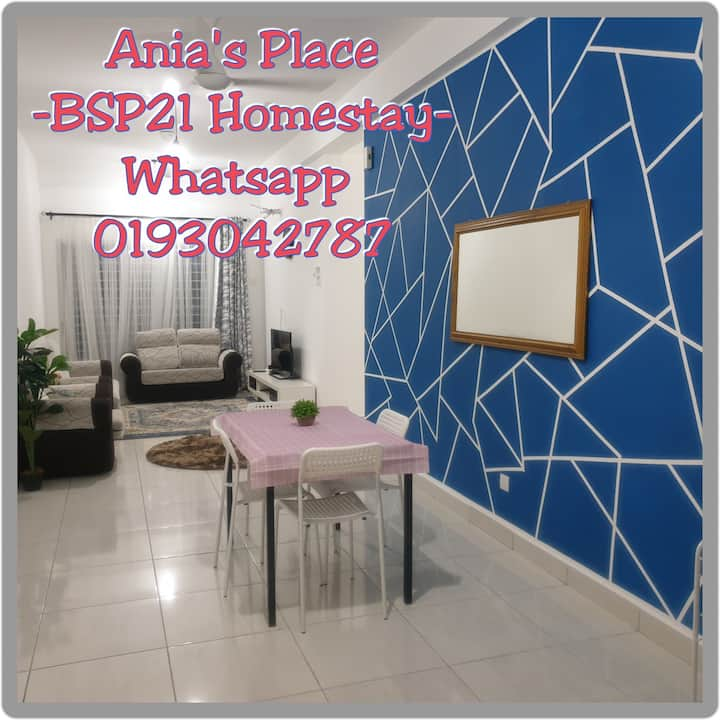 Ania's Place -BSP21 -Homestay. Getaway. Gatherings