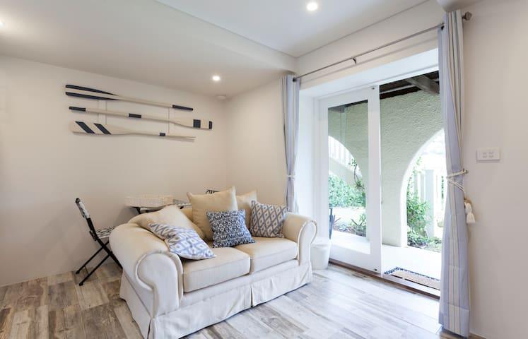 Appartement avec jardin privé et ensoleillé