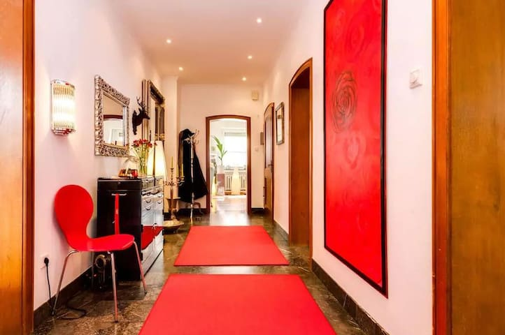 Ein Teil von Villa Kunterbunt