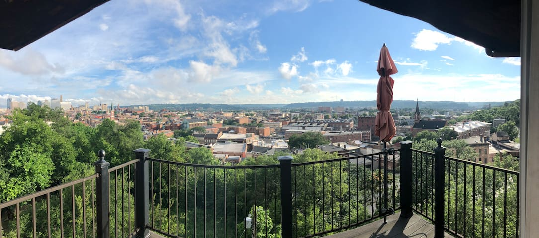 Old Meets New in Northern OTR w/ a beautiful view