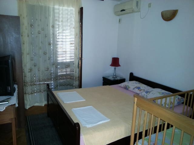Kovacevic - Double Room with Balcony with Sea View - Kaluđerac