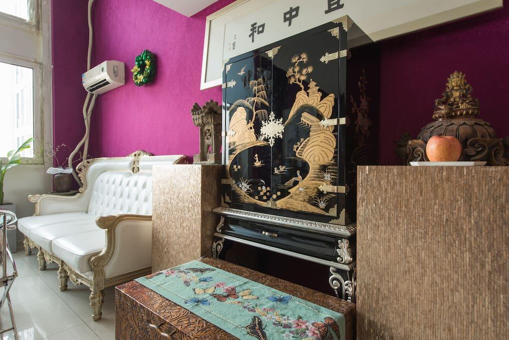 西式风格的客厅
