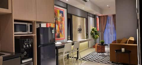 Cozy 2BR@Aspen Residences Apartment South Jakarta