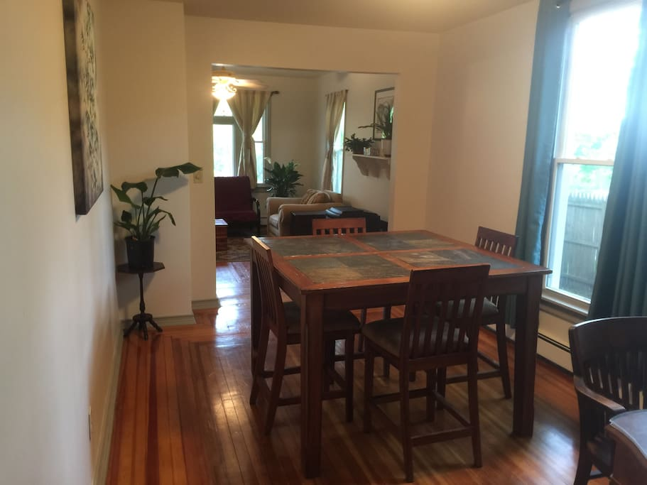 Dining Room looking into Living Room