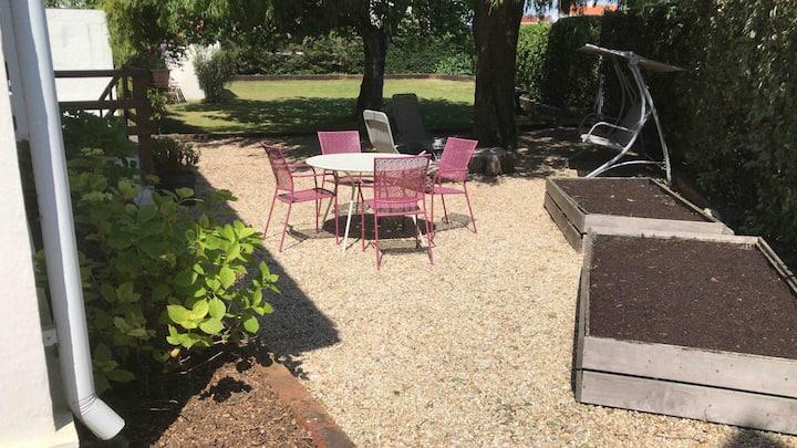 Maison avec grand jardin sur l'île de Noirmoutier